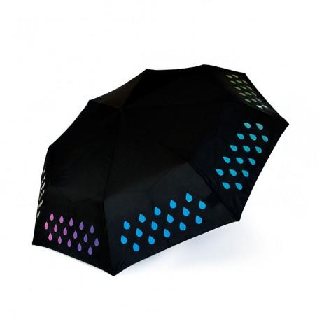 Компактный зонт-хамелеон Suck Uk, меняющий цвет от воды