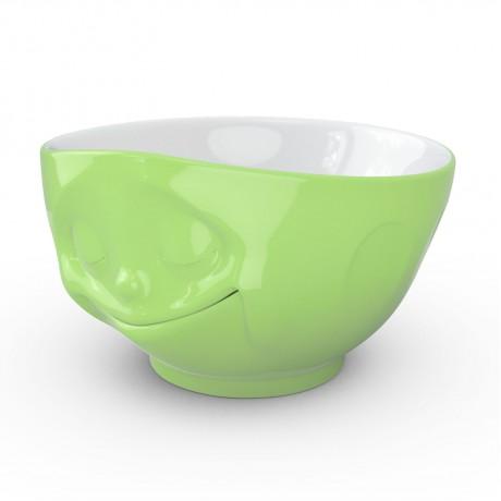 "Салатница Tassen ""Счастье"" (500 мл) фарфор, зеленый"