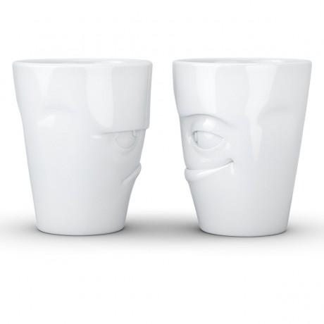 """Набор из двух чашек Tassen """"Я сердит и Проказник"""" (350 мл), фарфор"""