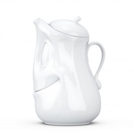 """Чайник Tassen """"Позитив"""" (1,2 л), фарфор"""