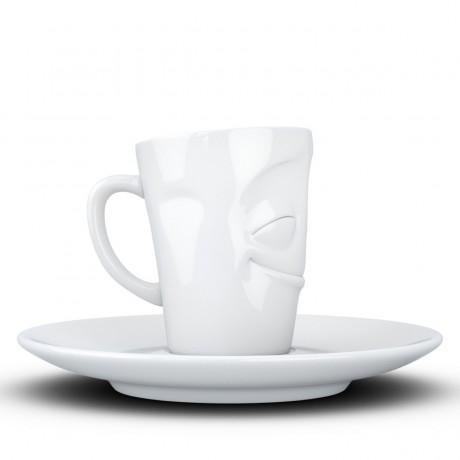 "Espresso чашка с ручкой Tassen ""Благодарю!"" (80 мл), фарфор"