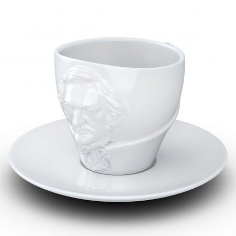 Чашка с блюдцем Tassen Вагнер (260 мл), фарфор