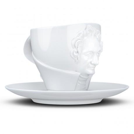 Чашка с блюдцем Tassen Иоганн Вольфганг фон Гете (260 мл), фарфор