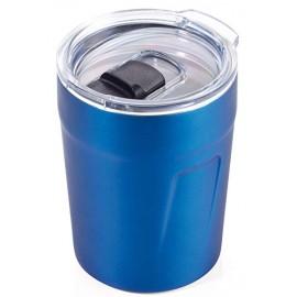 Термочашка для горячих напитков Troika 160 мл синя..