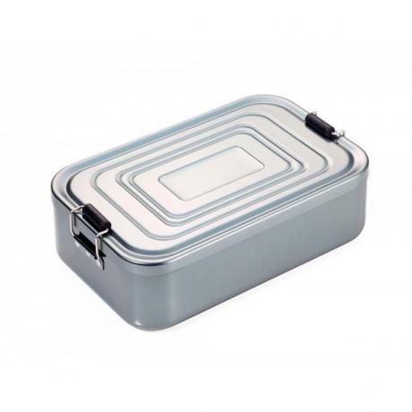 Коробка для ланча Troika Back to school алюминиевая