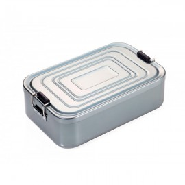 Коробка для ланча Troika XL алюминиевая