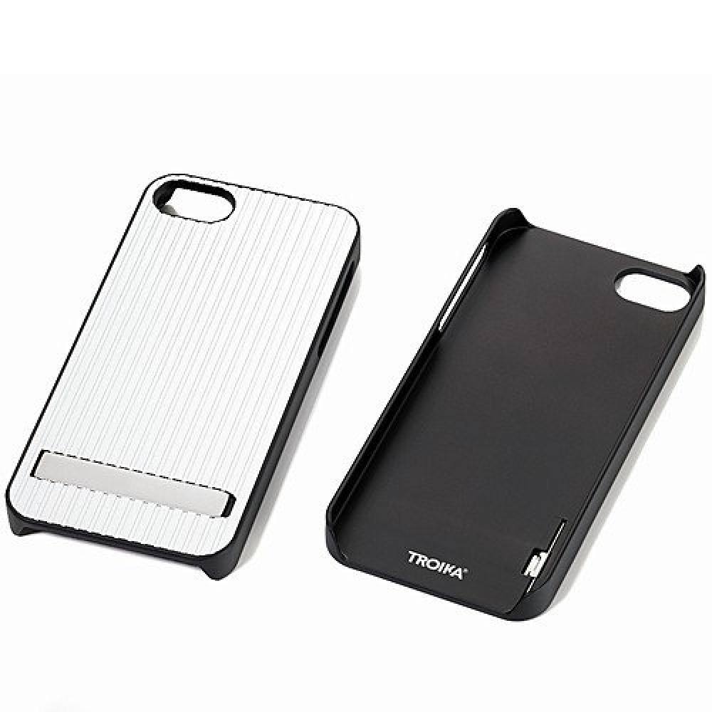 Крышка Troika  для iPhone 5 Silver
