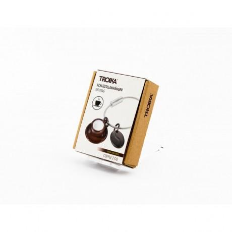 Брелок Troika Coffee c 2 подвесками