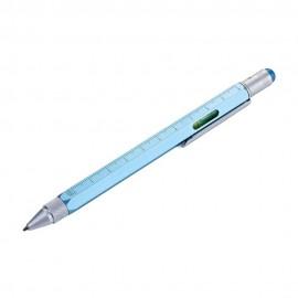 Ручка шариковая Troika Construction со стилусом, л..