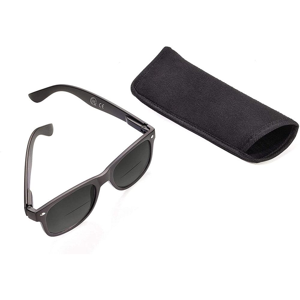 Cолнцезащитные очки черные Troika CDU SUN (+3)