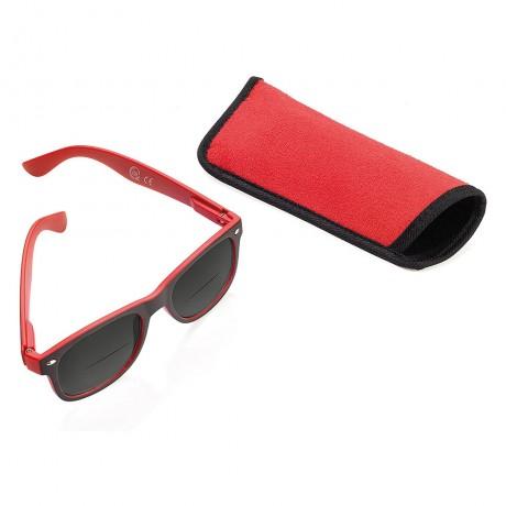 Cолнцезащитные очки красные Troika CDU SUN +1.50 Dpt