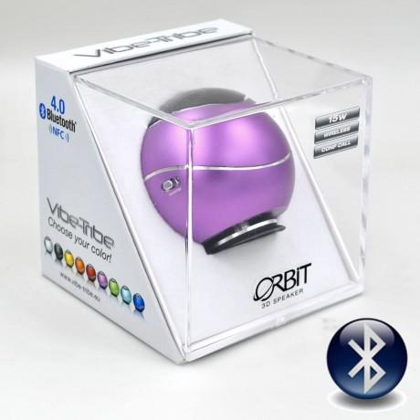 Виброколонка Vibe-Tribe Orbit speaker 15 Вт, пурпурная