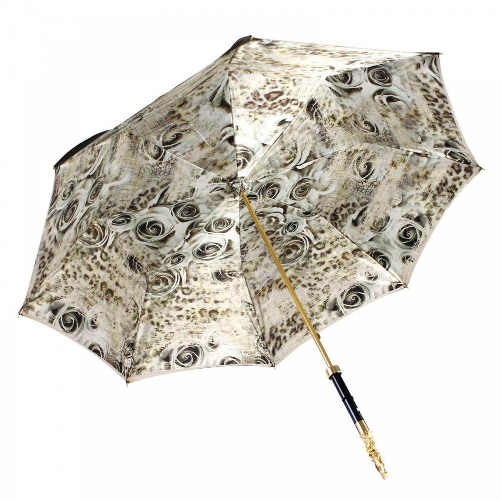 Зонт женский «White Roses»
