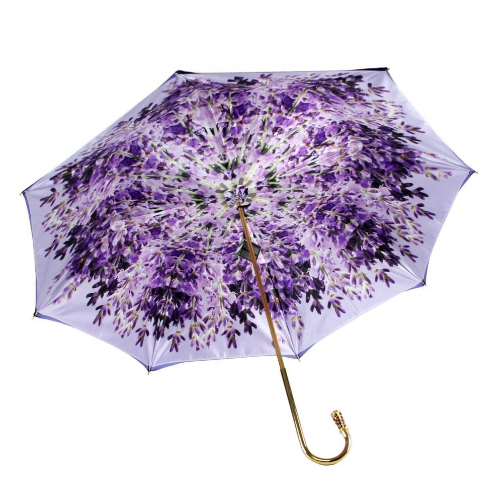 Зонт женский двойной «PURPLE LAVENDER»