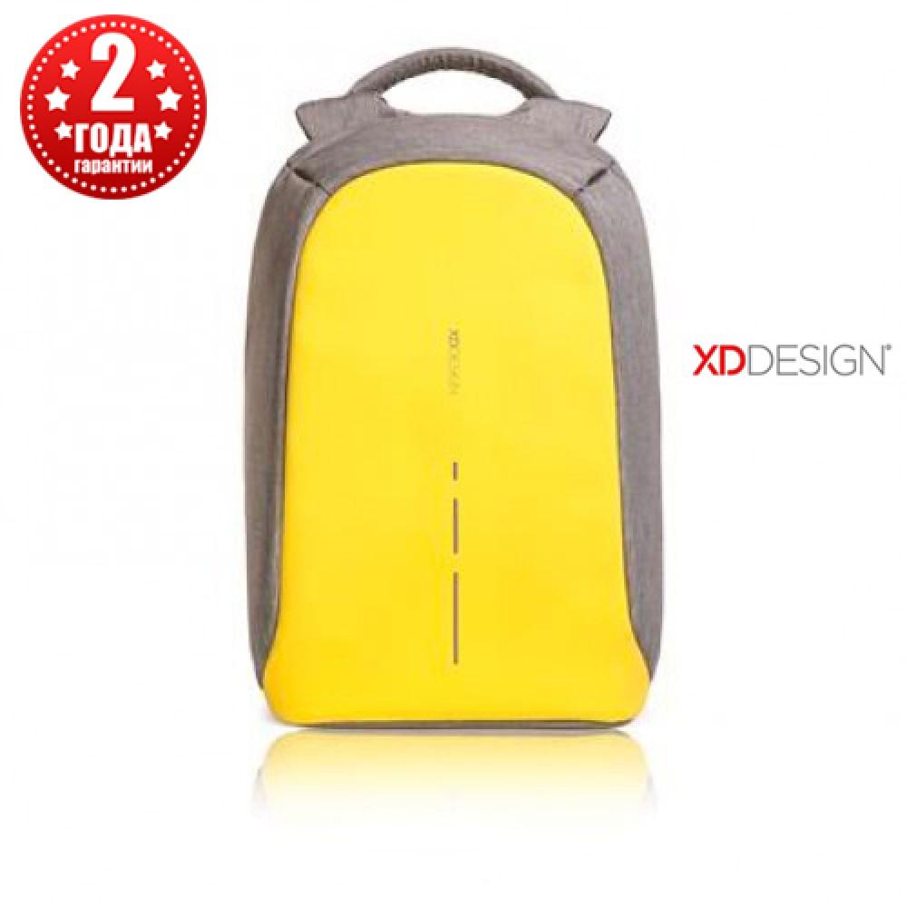 """Рюкзак антивор городской XD Design Bobby Compact 14"""", Primrose Yellow (P705.536)"""