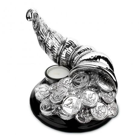 Бокал с подогревом для коньяка Chinelli «Рог изобилия»