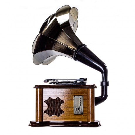 Граммофон «Синатра» дуб