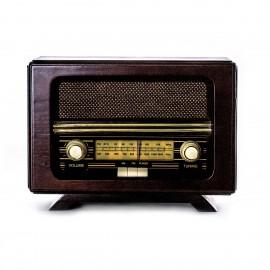 Ретро радио «Малыш» FM-радио, ореховый корпус