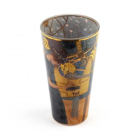 Ваза Goebel «Музыка» Густав Климт, 20 см