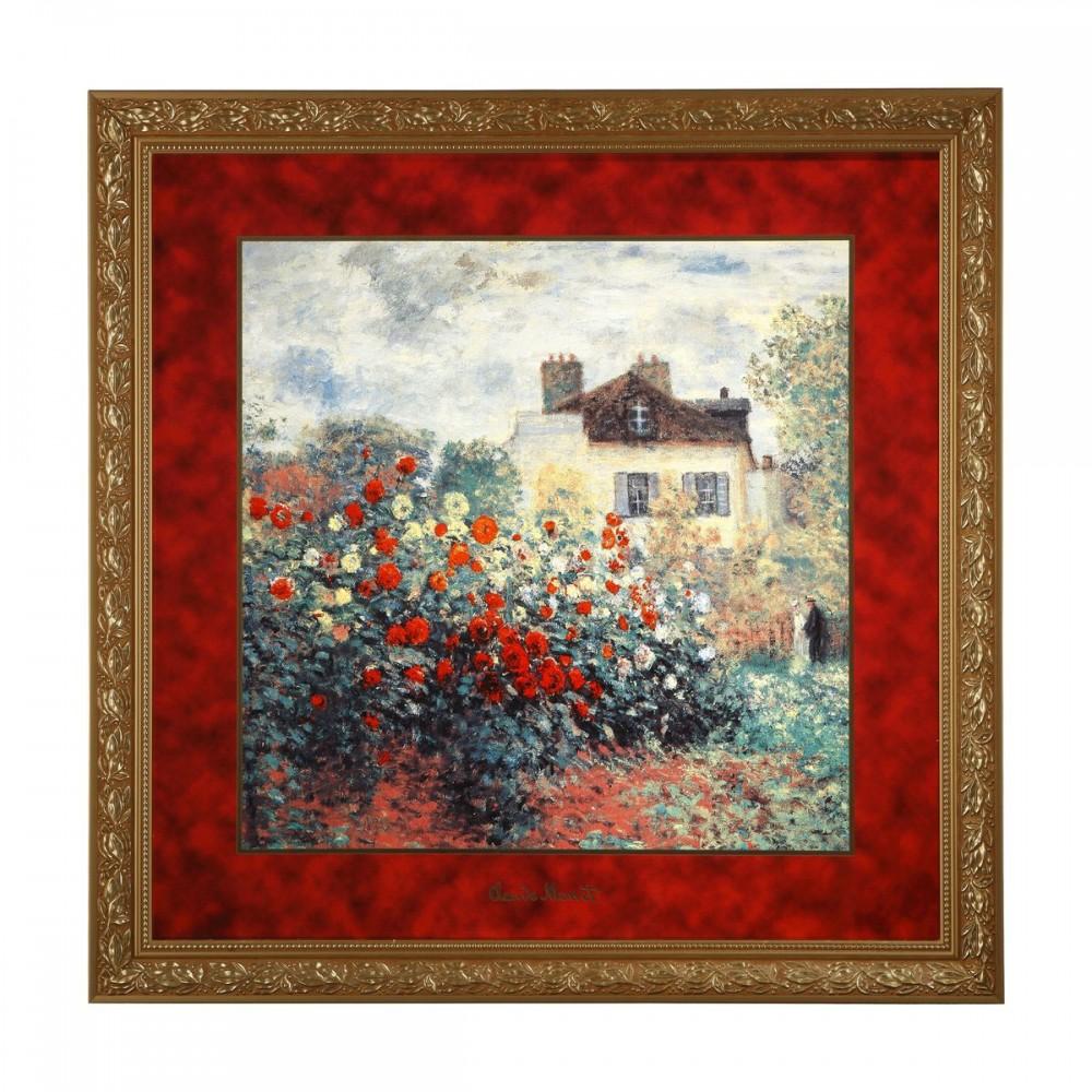 Картина Goebel  «Дом художника» Клод Моне, 68 х 68 см