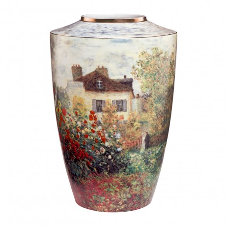 Ваза Goebel «Дом художника» Клод Моне, 41см