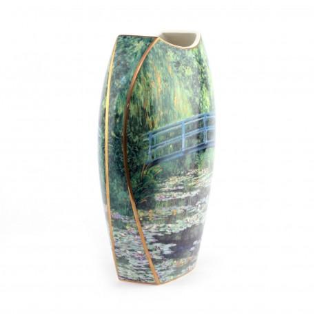 Ваза Goebel «Японский сад» Клод Моне, 30 см