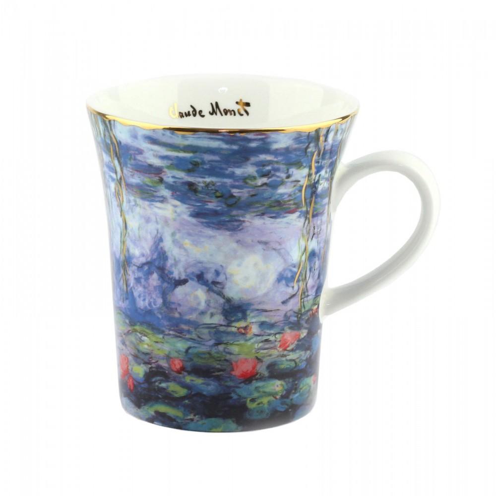 Кружка Goebel «Водяные лилии с ивой» Клод Моне 400 мл