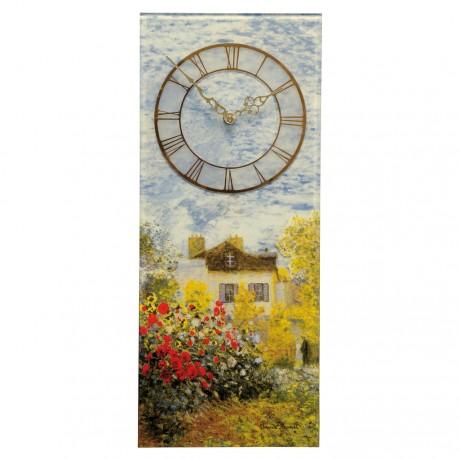 Часы настольные Goebel «Дом художника» Клод Моне, 23 см