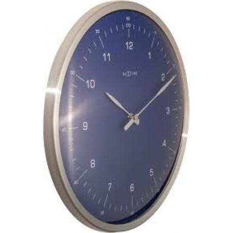 """Часы настенные """"60 Minutes"""", синие Ø33 см"""