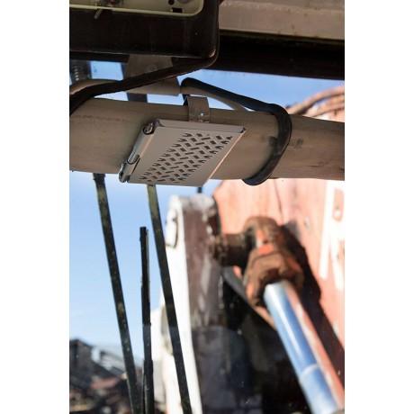 Карманный блокнот с ручкой Troika Tire Track Visor