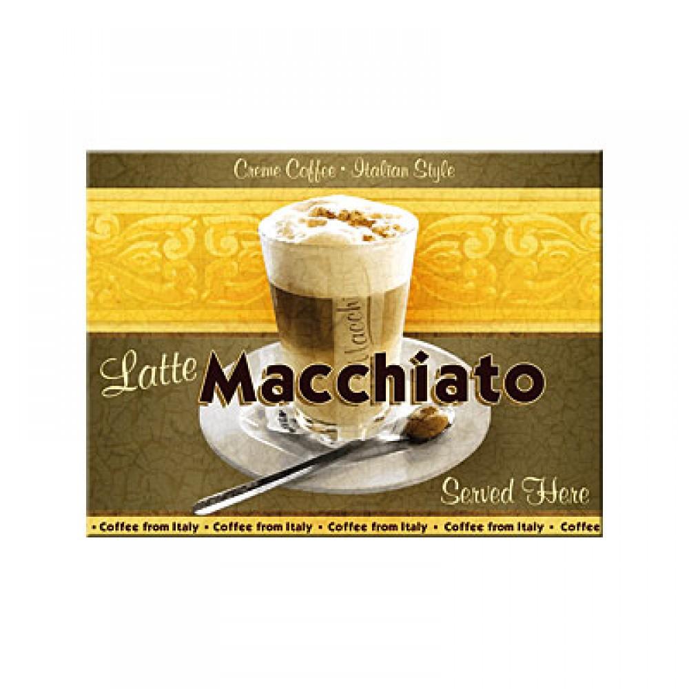 Магнит 8x6 см Latte Macciato Nostalgic Art (14038)
