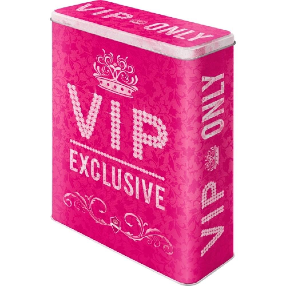 Коробка для хранения  XL VIP Pink Only Nostalgic Art (30318)