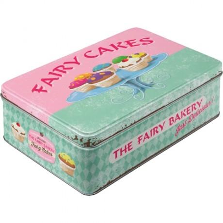 Коробка для хранения Fairy Cakes - Fresh every Day Nostalgic Art (30708)