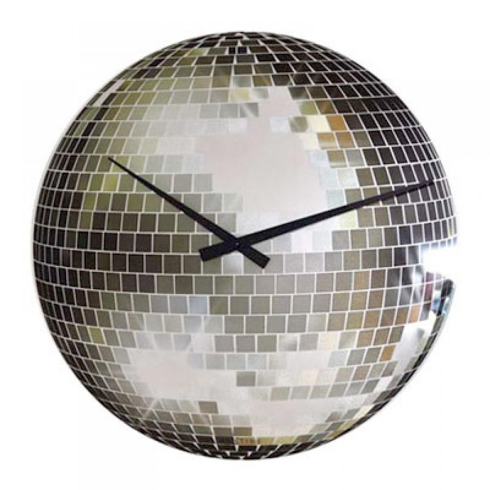 """Часы настенные """"Disco"""", маленькие Ø20 см"""