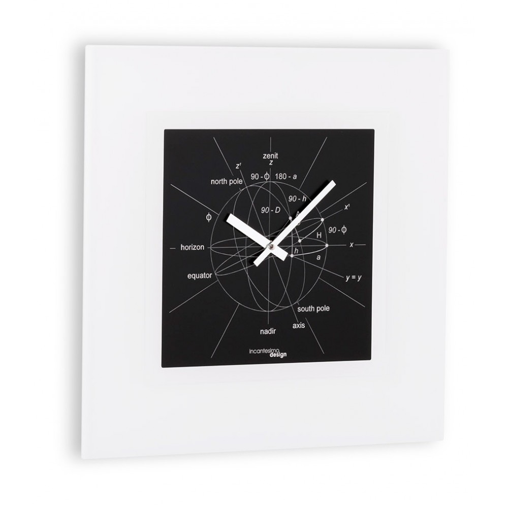 Часы настенные Incantesimo Design Astronomiae Muro 40х40 см