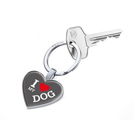 Брелок для ключей Troika I Love My Dog
