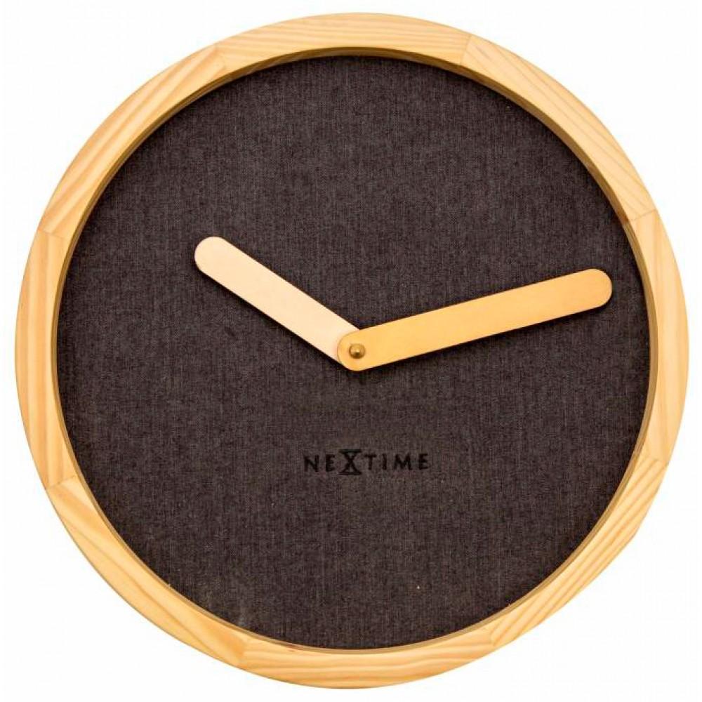 """Часы настенные """"Calm Brown"""" Ø30 см"""