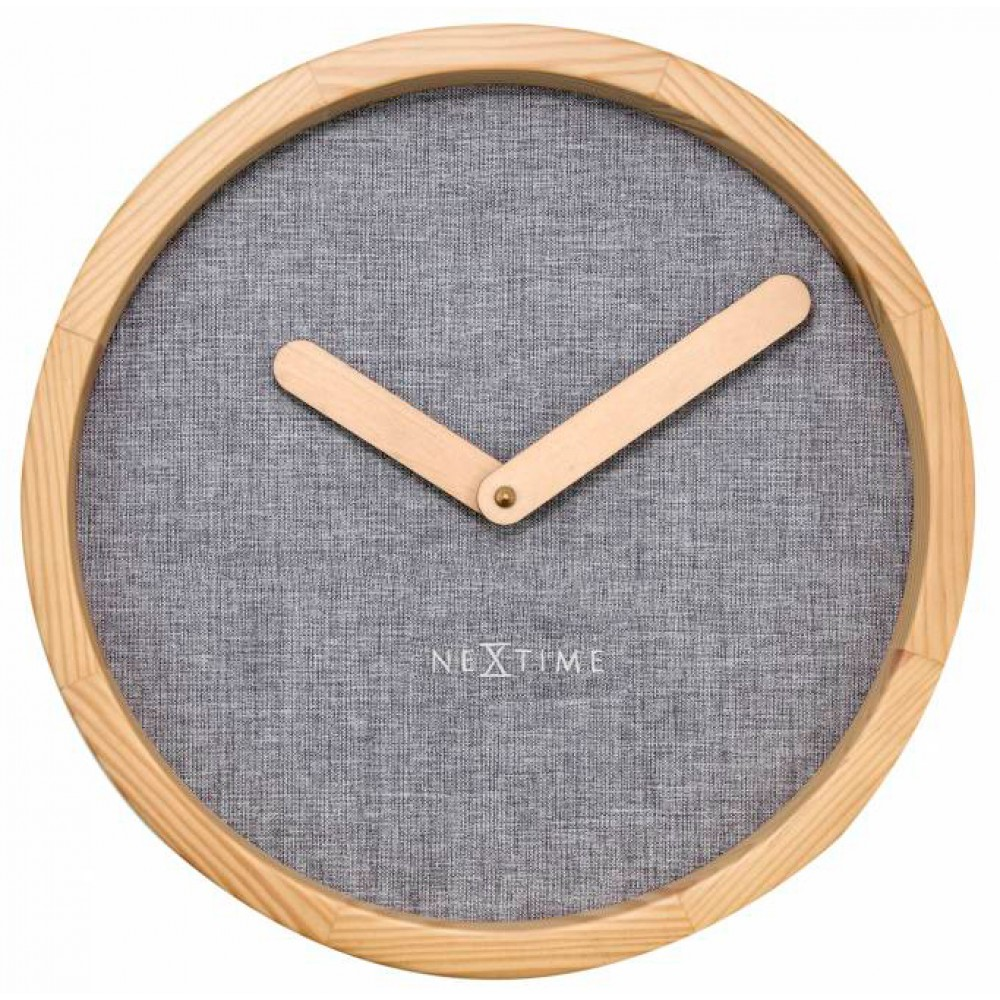 "Часы настенные ""Calm Grey"" Ø30 см"