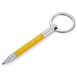 Ручка-брелок Troika Micro Construction желтая