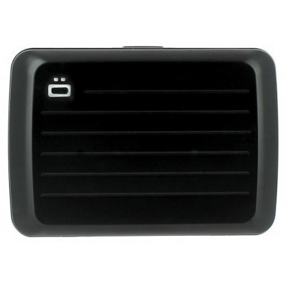 Визитница-портмоне OGON  Stockholm V2, черная