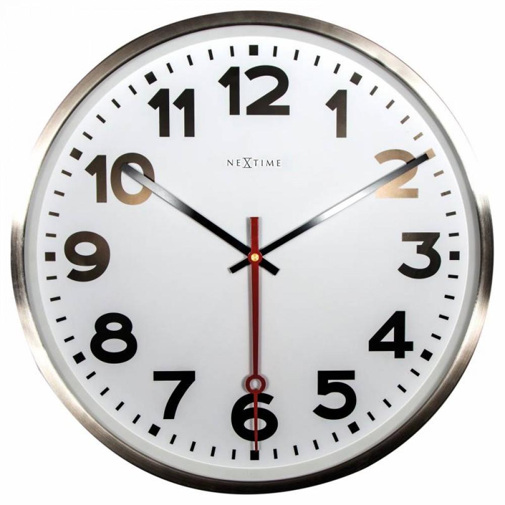 """Часы настенные """"Super Station Number"""" Ø55 см"""
