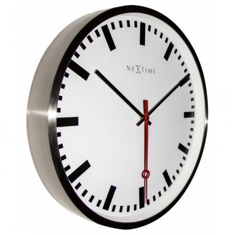 "Часы настенные ""Super Station Stripe""  Ø55 см"