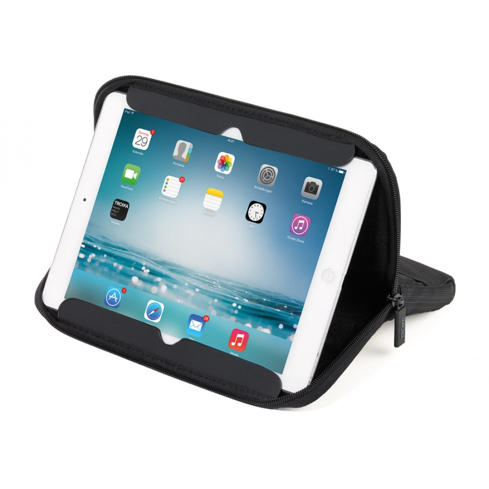 Чехол Troika для iPad Travel + Stand 10.1, черный