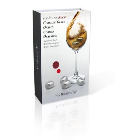 Ледяные капсулы для охлаждения вина и виски (4 шт)