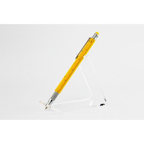 Мини-ручка Troika Construction, желтая
