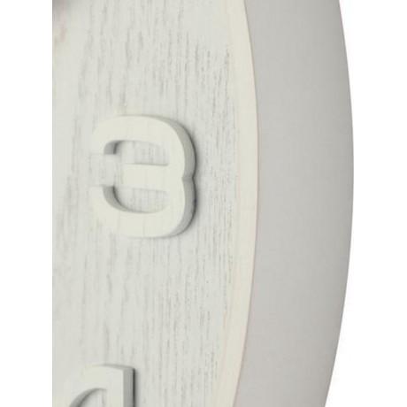 """Часы настенные """"Wood Wood Medium"""", белые Ø36 см"""