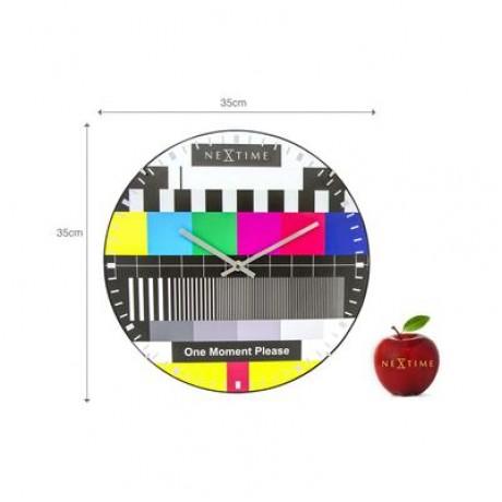 "Часы настенные ""Testpage Dome"" ø35 см"