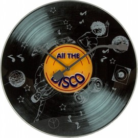 """Часы настенные """"All the Disco"""" Ø43 см"""
