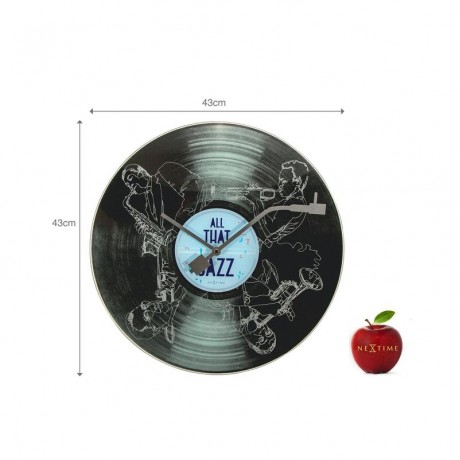 """Часы настенные """"All the Jazz"""" Ø43 см"""