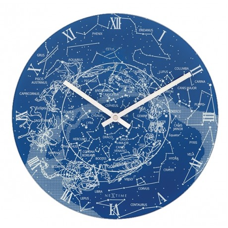 """Часы настенные """"Млечный путь"""" Ø30 см"""